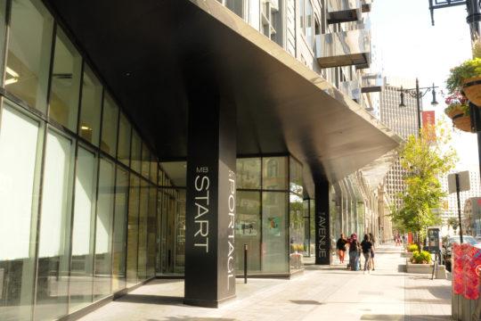 Manitoba Start Paris Building Entrance